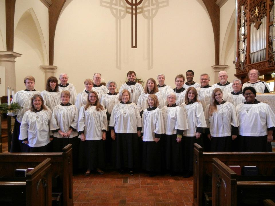 A picture of the Ascension Choir